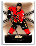 2015-16 Fleer Showcase #82 Mark Giordano Flames NHL Mint