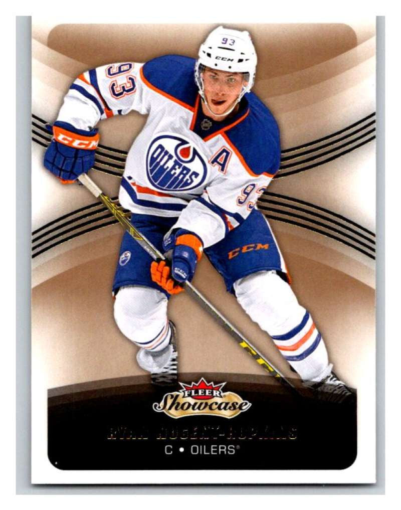2015-16 Fleer Showcase #83 Ryan Nugent-Hopkins Oilers NHL Mint