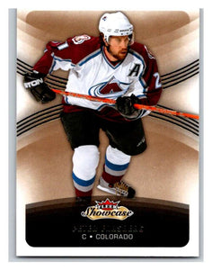 2015-16 Fleer Showcase #91 Peter Forsberg Avalanche NHL Mint