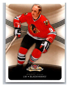 2015-16 Fleer Showcase #92 Bobby Hull Blackhawks NHL Mint
