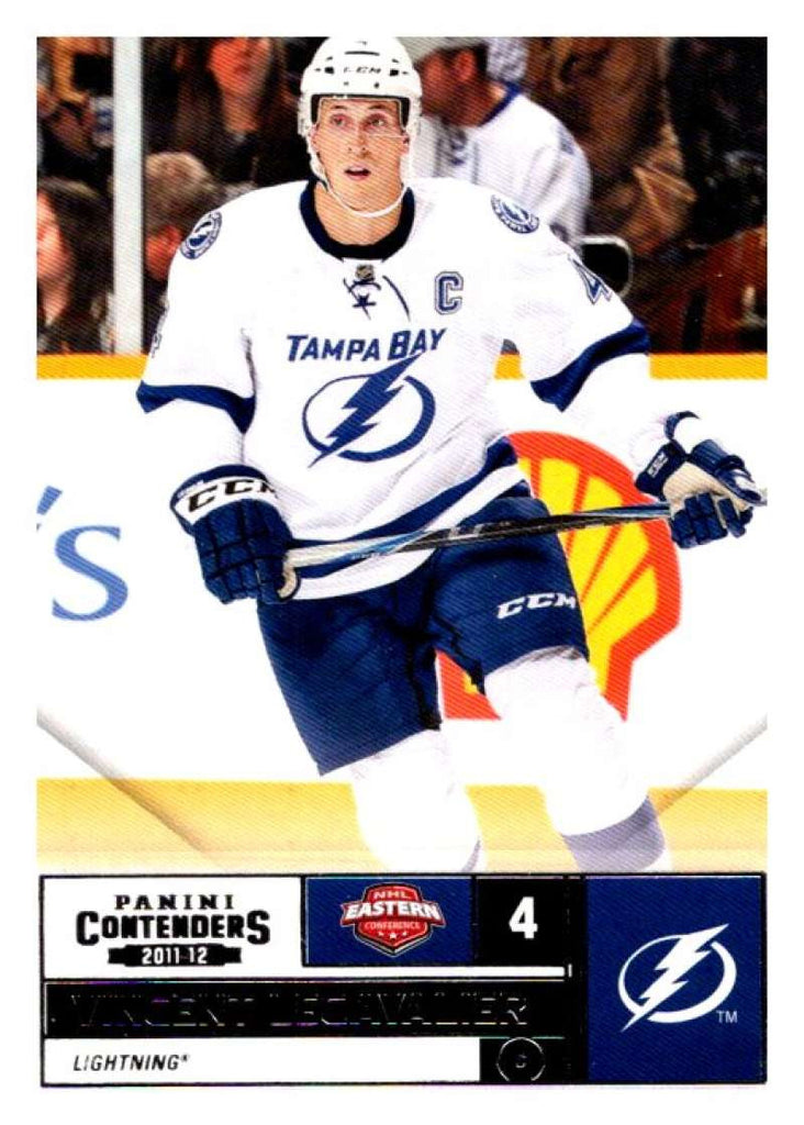 2011-12 Playoff Contenders #4 Vincent Lecavalier Lightning NHL Mint Hockey
