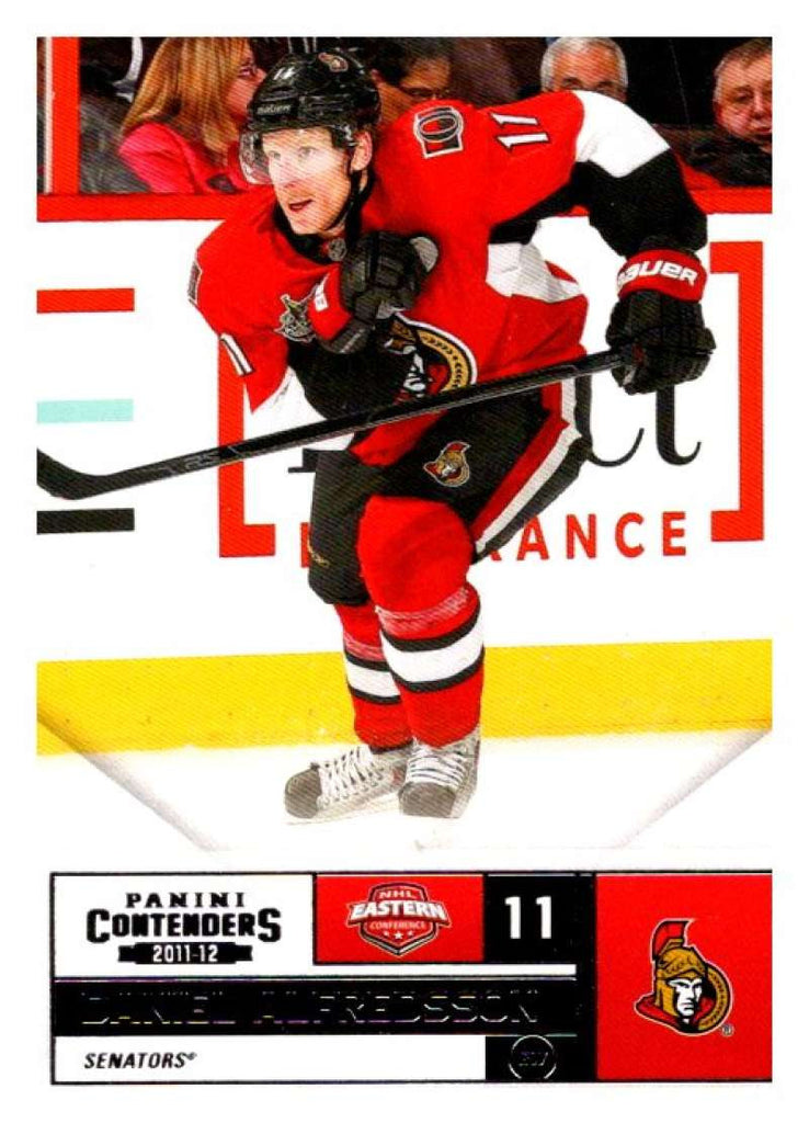 2011-12 Playoff Contenders #11 Daniel Alfredsson Senators NHL Mint Hockey