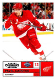 2011-12 Playoff Contenders #13 Pavel Datsyuk Red Wings NHL Mint Hockey