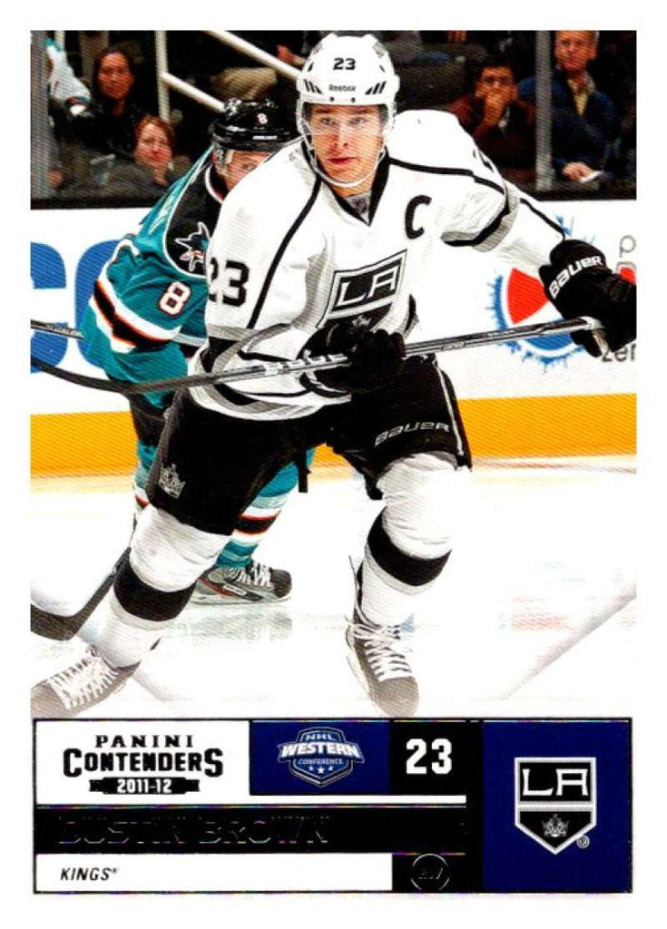 2011-12 Playoff Contenders #23 Dustin Brown Kings NHL Mint Hockey