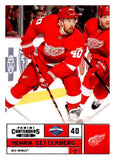 2011-12 Playoff Contenders #40 Henrik Zetterberg Red Wings NHL Mint Hockey
