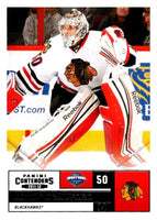 2011-12 Playoff Contenders #50 Corey Crawford Blackhawks NHL Mint Hockey