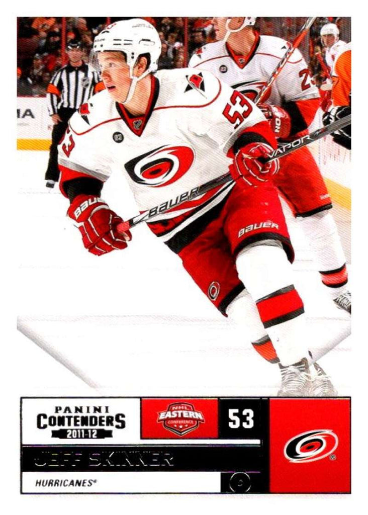2011-12 Playoff Contenders #53 Jeff Skinner Hurricanes NHL Mint Hockey