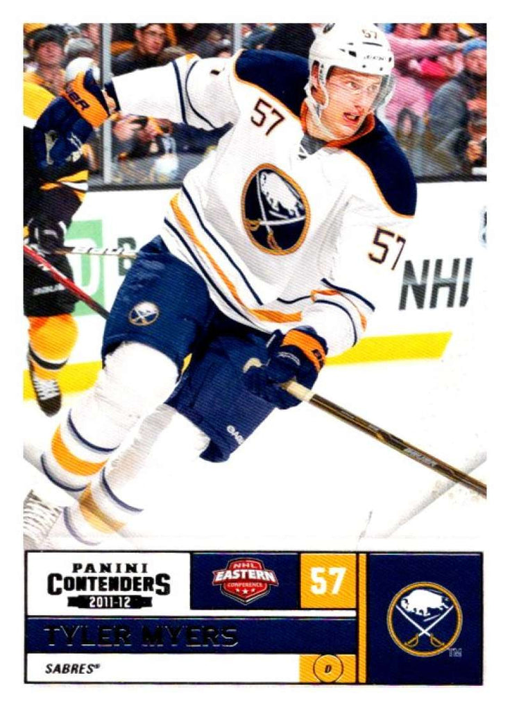 2011-12 Playoff Contenders #57 Tyler Myers Sabres NHL Mint Hockey