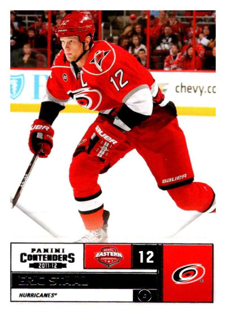 2011-12 Playoff Contenders #59 Eric Staal Hurricanes NHL Mint Hockey