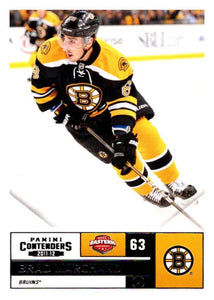 2011-12 Playoff Contenders #63 Brad Marchand Bruins NHL Mint Hockey