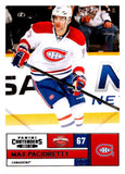2011-12 Playoff Contenders #67 Max Pacioretty Canadiens NHL Mint Hockey