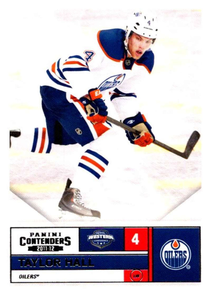 2011-12 Playoff Contenders #69 Taylor Hall Oilers NHL Mint Hockey