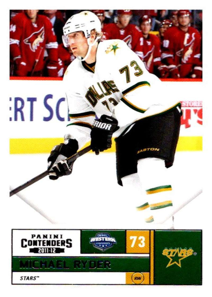 2011-12 Playoff Contenders #73 Michael Ryder Stars NHL Mint Hockey
