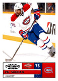 2011-12 Playoff Contenders #76 P.K. Subban Canadiens NHL Mint Hockey