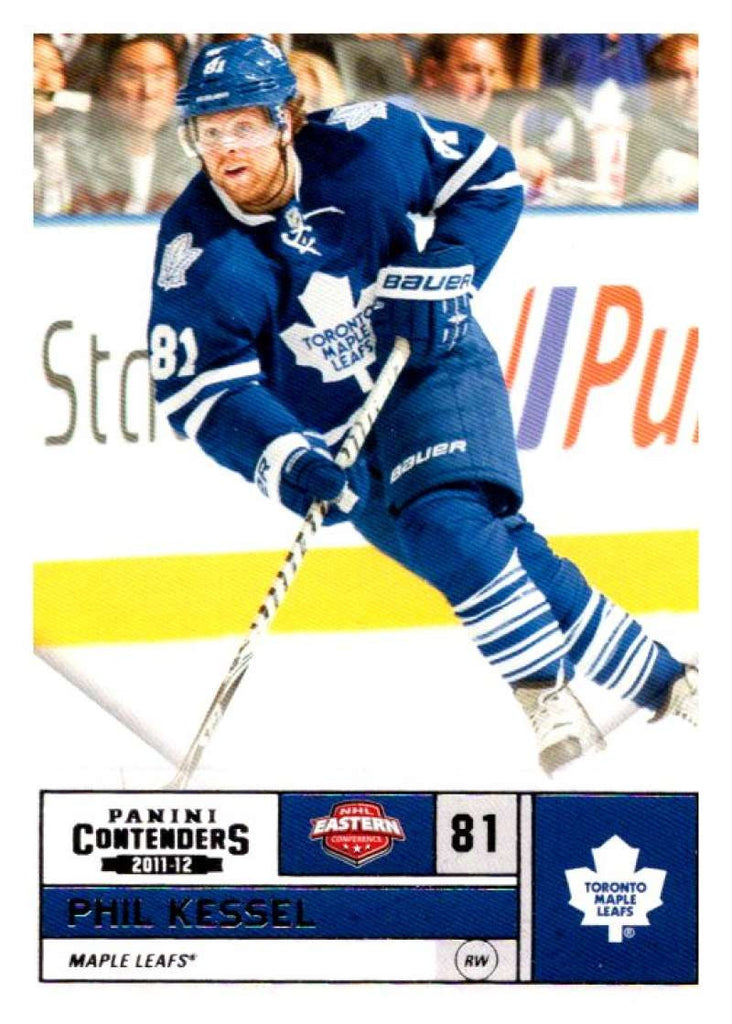 2011-12 Playoff Contenders #81 Phil Kessel Maple Leafs NHL Mint Hockey