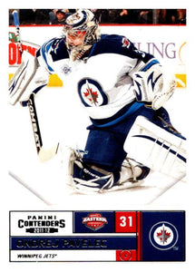 2011-12 Playoff Contenders #86 Ondrej Pavelec Winn Jets NHL Mint Hockey