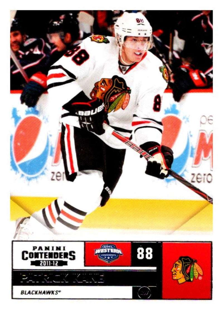 2011-12 Playoff Contenders #88 Patrick Kane Blackhawks NHL Mint Hockey