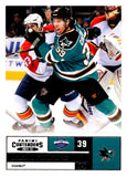 2011-12 Playoff Contenders #90 Logan Couture Sharks NHL Mint Hockey