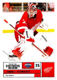 2011-12 Playoff Contenders #93 Jimmy Howard Red Wings NHL Mint Hockey