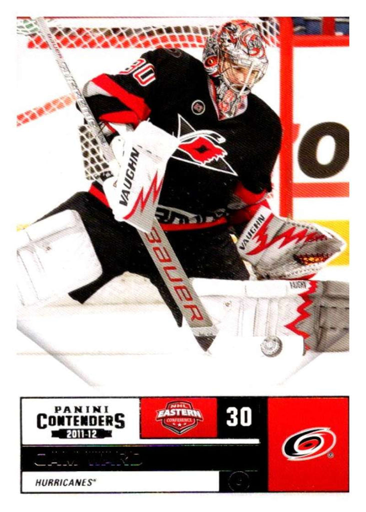 2011-12 Playoff Contenders #95 Cam Ward Hurricanes NHL Mint Hockey