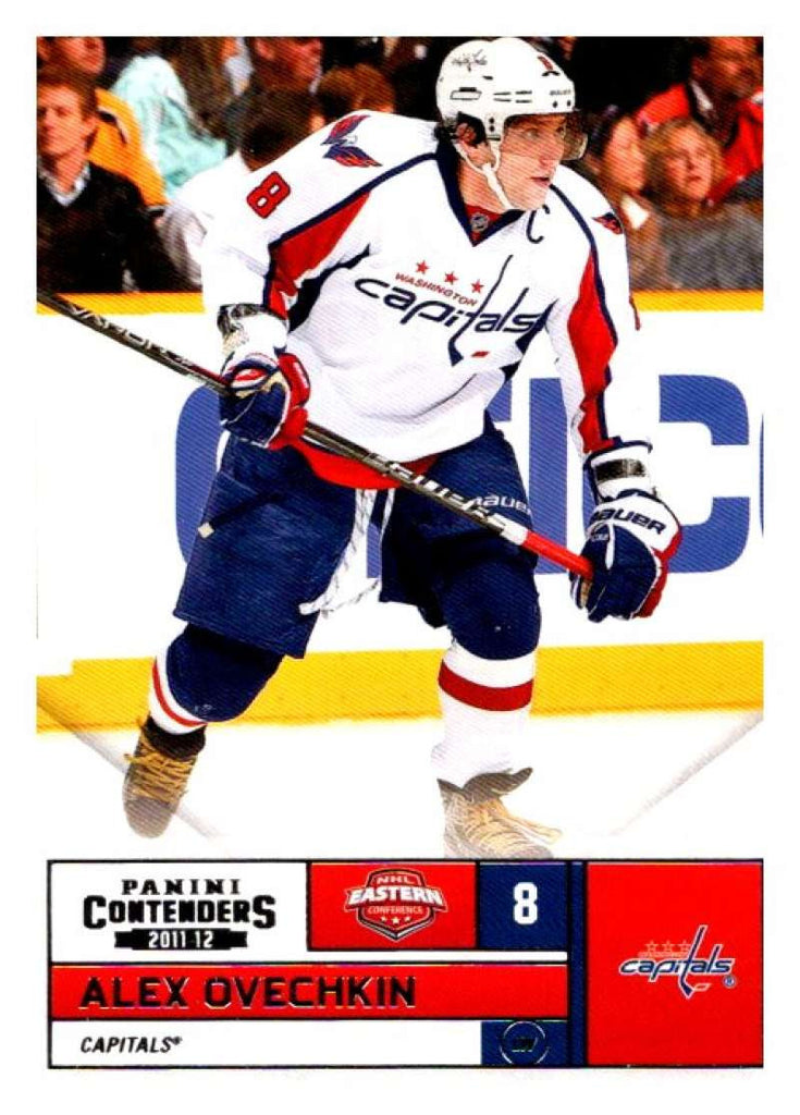 2011-12 Playoff Contenders #98 Alex Ovechkin Capitals NHL Mint Hockey