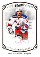 2015-16 Upper Deck Champs #6 Mats Zuccarello NY Rangers NHL Mint