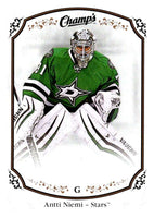 2015-16 Upper Deck Champs #7 Antti Niemi Stars NHL Mint
