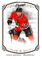 2015-16 Upper Deck Champs #9 Artem Anisimov Blackhawks NHL Mint