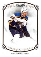 2015-16 Upper Deck Champs #15 Paul Stastny Blues NHL Mint