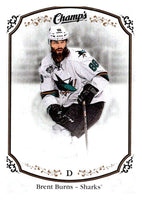 2015-16 Upper Deck Champs #16 Brent Burns Sharks NHL Mint