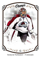 2015-16 Upper Deck Champs #17 Semyon Varlamov Avalanche NHL Mint