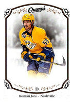 2015-16 Upper Deck Champs #24 Roman Josi Predators NHL Mint