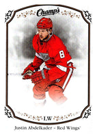 2015-16 Upper Deck Champs #26 Justin Abdelkader Red Wings NHL Mint