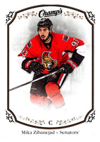 2015-16 Upper Deck Champs #28 Mika Zibanejad Senators NHL Mint