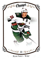 2015-16 Upper Deck Champs #29 Ryan Suter Wild NHL Mint