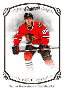 2015-16 Upper Deck Champs #37 Teuvo Teravainen Blackhawks NHL Mint