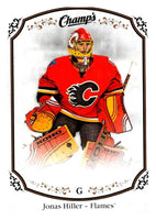 2015-16 Upper Deck Champs #41 Jonas Hiller Flames NHL Mint