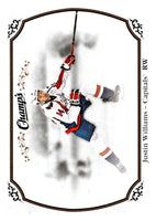 2015-16 Upper Deck Champs #43 Justin Williams Capitals NHL Mint