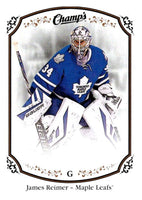 2015-16 Upper Deck Champs #44 James Reimer Maple Leafs NHL Mint