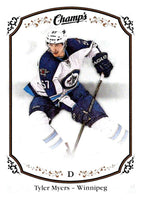 2015-16 Upper Deck Champs #46 Tyler Myers Winn Jets NHL Mint
