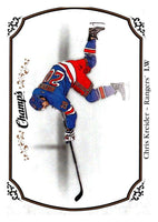2015-16 Upper Deck Champs #47 Chris Kreider NY Rangers NHL Mint