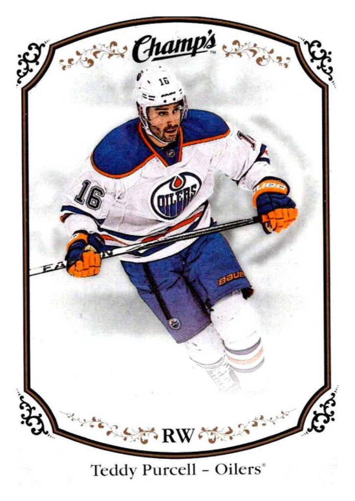 2015-16 Upper Deck Champs #49 Teddy Purcell Oilers NHL Mint