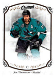 2015-16 Upper Deck Champs #50 Joe Thornton Sharks NHL Mint
