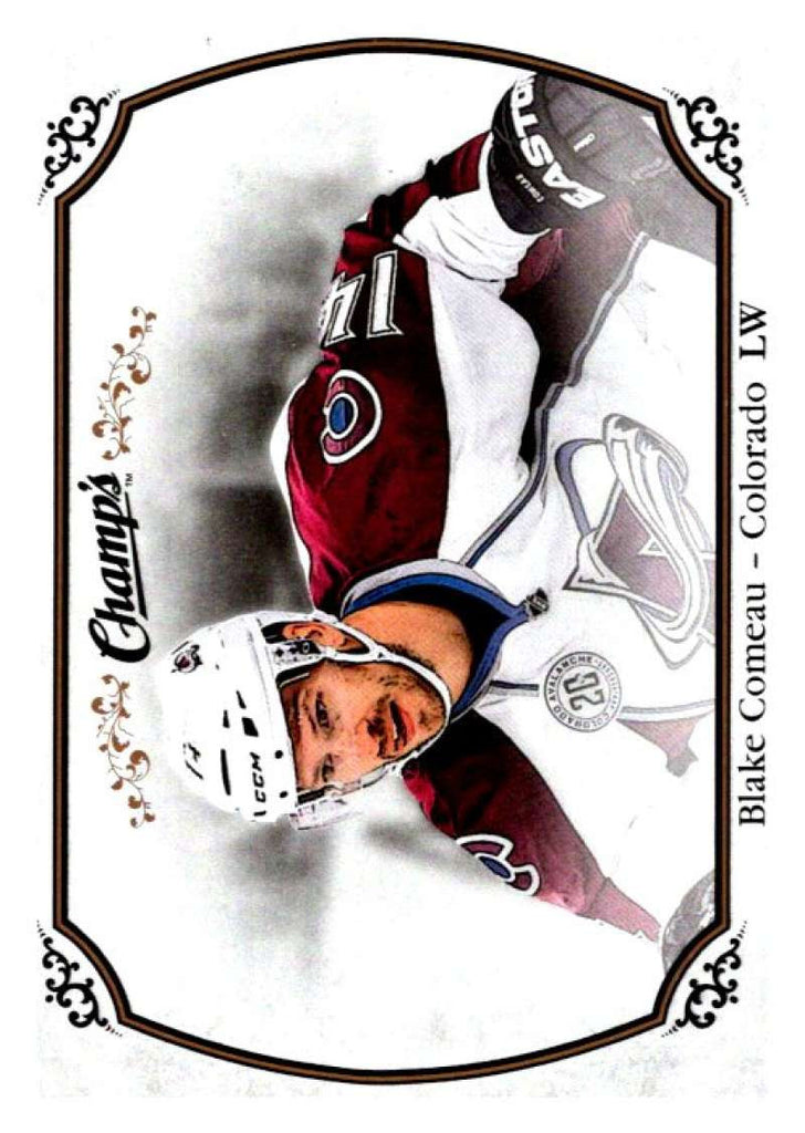 2015-16 Upper Deck Champs #63 Blake Comeau Avalanche NHL Mint