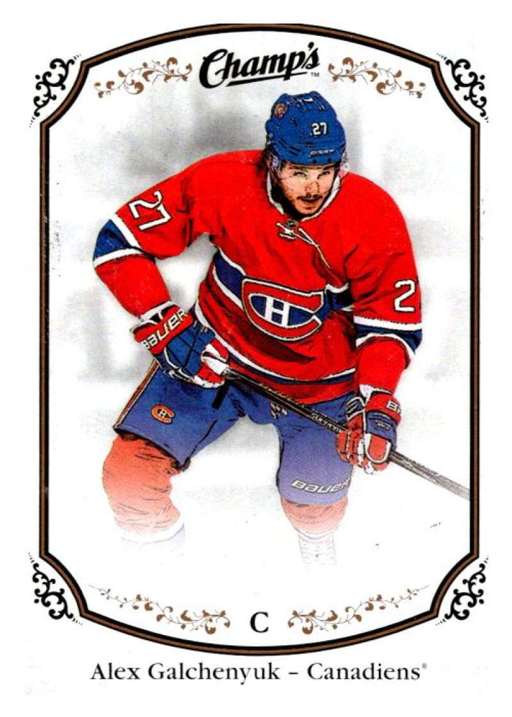 2015-16 Upper Deck Champs #72 Alex Galchenyuk Canadiens NHL Mint
