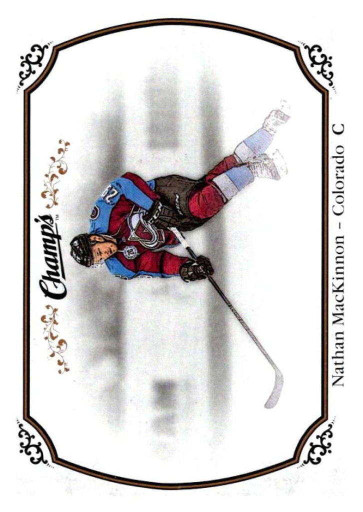 2015-16 Upper Deck Champs #76 Nathan MacKinnon Avalanche NHL Mint