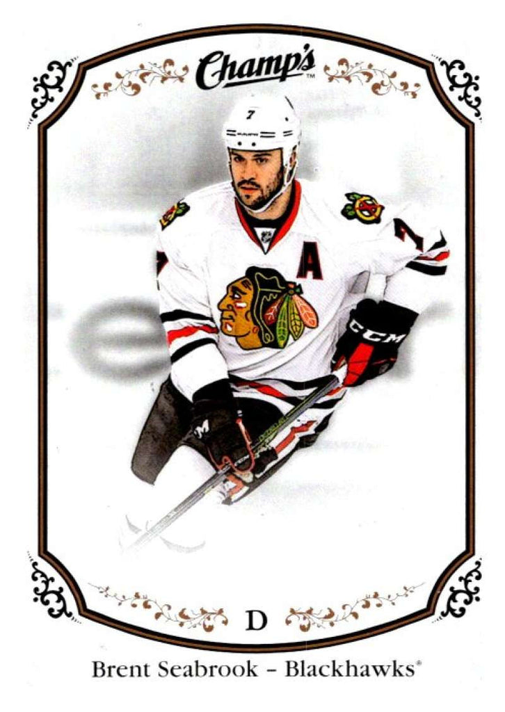 2015-16 Upper Deck Champs #85 Brent Seabrook Blackhawks NHL Mint