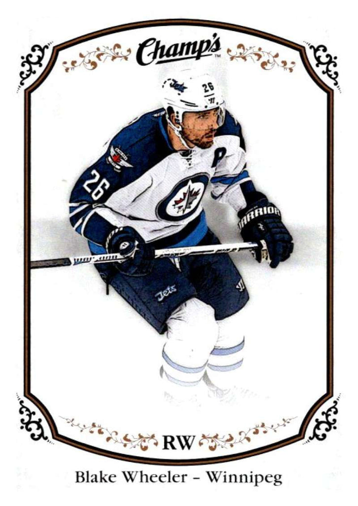 2015-16 Upper Deck Champs #87 Blake Wheeler Winn Jets NHL Mint