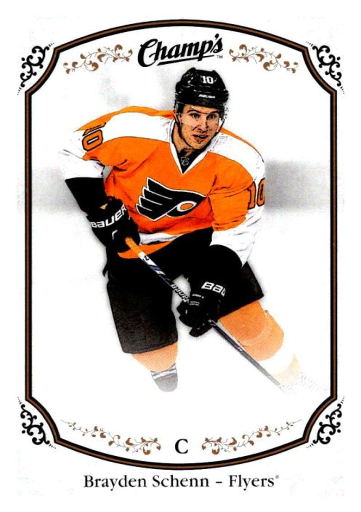 2015-16 Upper Deck Champs #90 Brayden Schenn Flyers NHL Mint