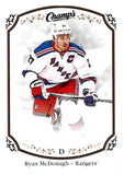 2015-16 Upper Deck Champs #110 Ryan McDonagh NY Rangers NHL Mint